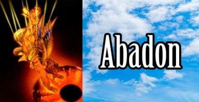 abadon significado tarot