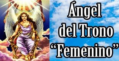 angel del trono femenino significado tarot