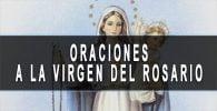 nuestra señora del rosario oracion